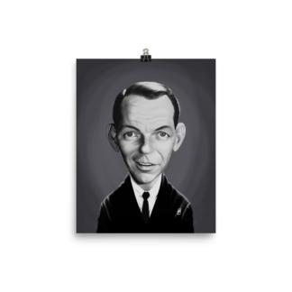 Frank Sinatra (Celebrity Sunday) Art Print Poster