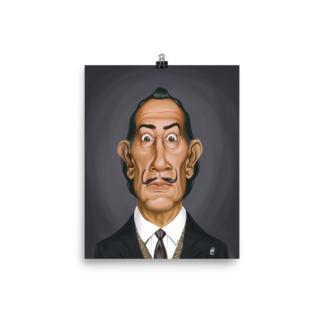 Salvador Dali (Celebrity Sunday) Art Print Poster