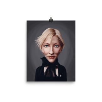Cate Blanchett  (Celebrity Sunday) Art Print Poster