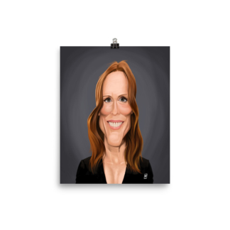 Julianne Moore (Celebrity Sunday) Art Print Poster