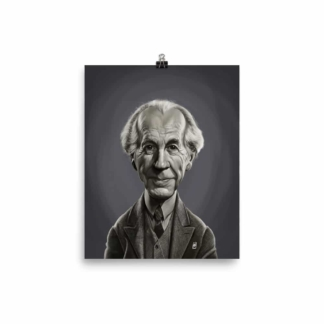 Frank Lloyd Wright (Celebrity Sunday) Art Print Poster