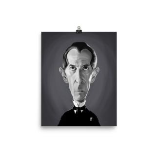 Peter Cushing (Celebrity Sunday) Art Print Poster