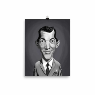 Dean Martin (Celebrity Sunday) Art Print Poster