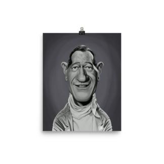 John Wayne (Celebrity Sunday) Art Print Poster