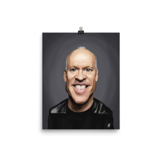 Michael Keaton (Celebrity Sunday) Art Print Poster