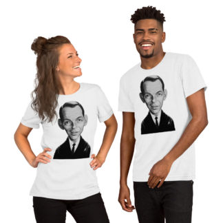 Frank Sinatra (Celebrity Sunday) Short-Sleeve Unisex T-Shirt