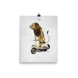 Lamb (Animal Illustration) Art Print Poster