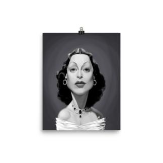 Hedy Lamarr (Celebrity Sunday) Art Print Poster
