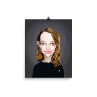 Emma Stone (Celebrity Sunday) Art Print Poster