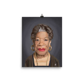 Maya Angelou (Celebrity Sunday) Art Print Poster