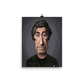 Al Pacino (Celebrity Sunday) Art Print Poster