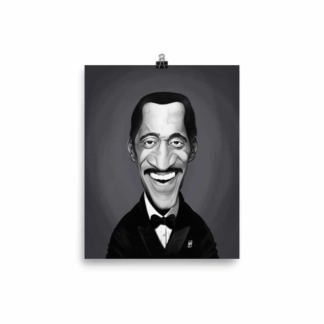 Sammy Davis Jnr (Celebrity Sunday) Art Print Poster