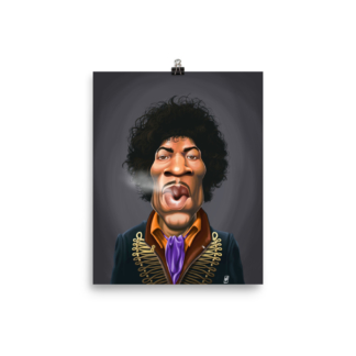 Jimi Hendrix (Celebrity Sunday) Art Print Poster