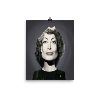 Joan Crawford (Celebrity Sunday) Art Print Poster