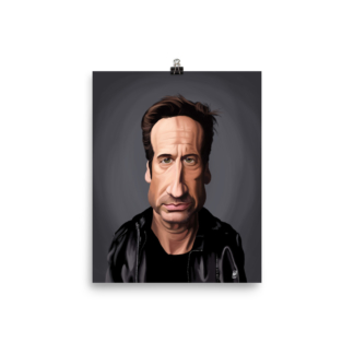 David Duchovny (Celebrity Sunday) Art Print Poster