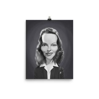 Katharine Hepburn (Celebrity Sunday) Art Print Poster
