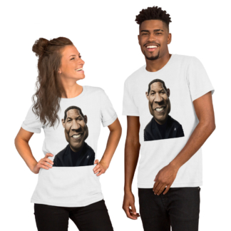 Denzel Washington (Celebrity Sunday) Short-Sleeve Unisex T-Shirt