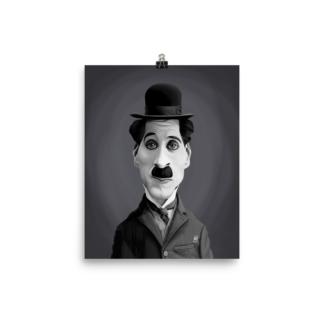 Charlie Chaplin (Celebrity Sunday) Art Print Poster
