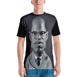 Malcolm X (Celebrity Sunday) All-Over T-shirt