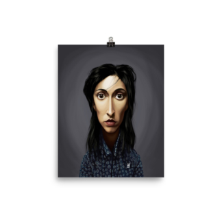 Oona Chaplin (Celebrity Sunday) Art Print Poster