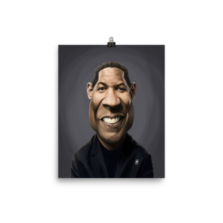 Denzel Washington (Celebrity Sunday) Art Print Poster
