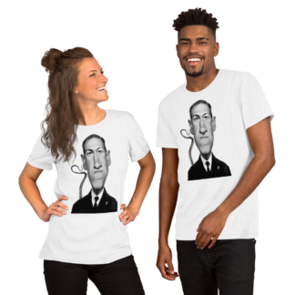 H.P Lovecraft (Celebrity Sunday) Short-Sleeve Unisex T-Shirt