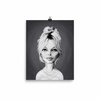 Brigitte Bardot (Celebrity Sunday) Art Print Poster