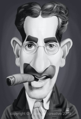 Celebrity Sunday - Groucho Marx