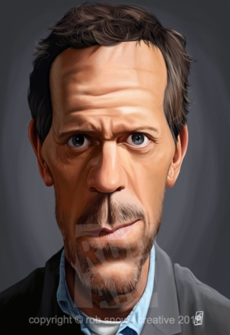 Celebrity Sunday - Hugh Laurie