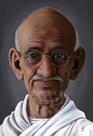Celebrity Sunday - Mahatma Gandhi