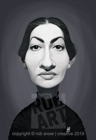 Celebrity Sunday - Maria Callas