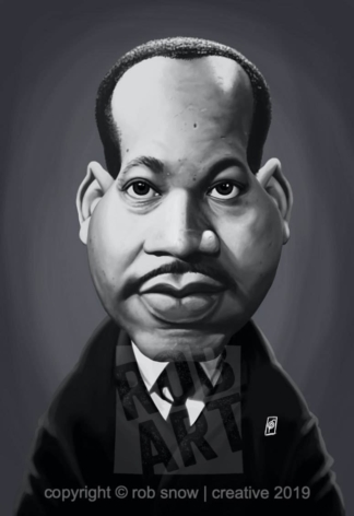 Celebrity Sunday - Martin Luther King