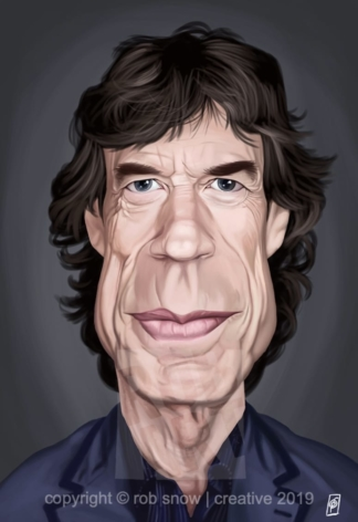 Celebrity Sunday - Mick Jagger