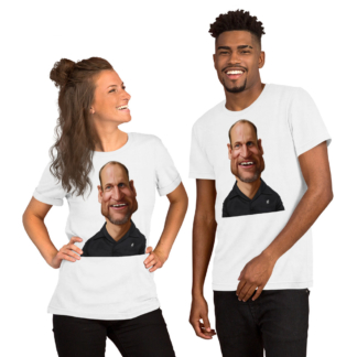 Woody Harrelson (Celebrity Sunday) Short-Sleeve Unisex T-Shirt