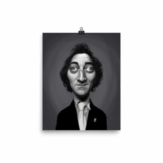 Marty Feldman (Celebrity Sunday) Art Print Poster