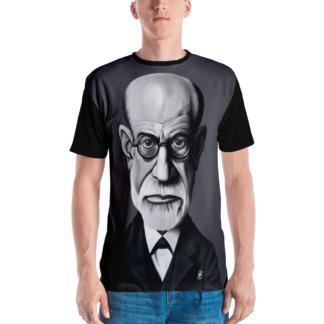 Sigmund Freud (Celebrity Sunday) All-Over T-shirt