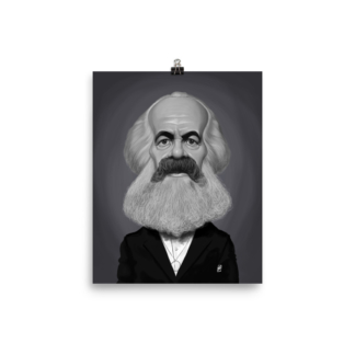 Karl Marx (Celebrity Sunday) Art Print Poster