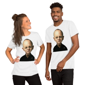 Anthony Hopkins (Celebrity Sunday) Short-Sleeve Unisex T-Shirt