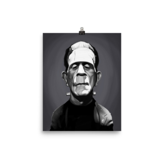 Boris Karloff (Celebrity Sunday) Art Print Poster