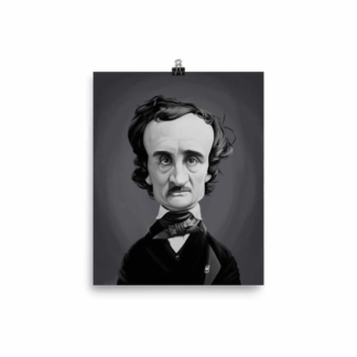 Edgar Allen Poe (Celebrity Sunday) Art Print Poster