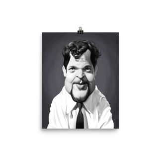 Orson Welles (Celebrity Sunday) Art Print Poster