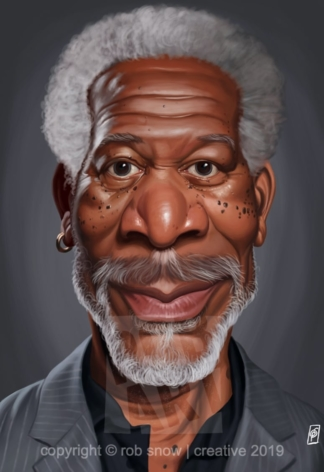 Celebrity Sunday - Morgan Freeman