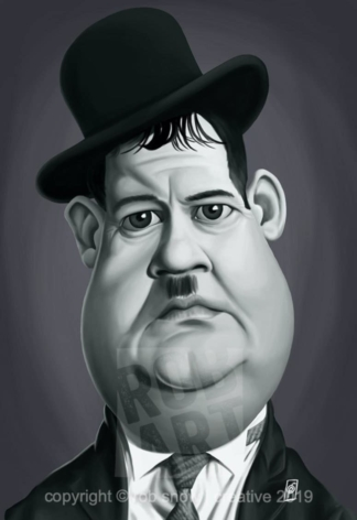 Celebrity Sunday - Oliver Hardy