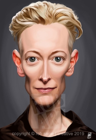 Celebrity Sunday - Tilda Swinton