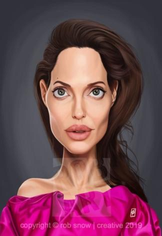 Celebrity Sunday - Angelina Jolie