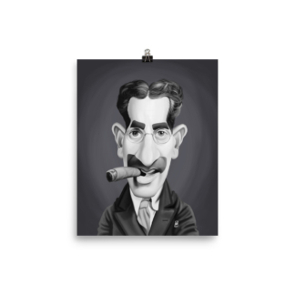 Groucho Marx (Celebrity Sunday) Art Print Poster