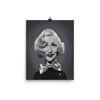 Ginger Rogers (Celebrity Sunday) Art Print Poster