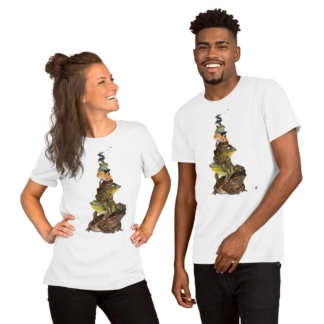 Toadstool (Animal Illustration) Short-Sleeve Unisex T-Shirt