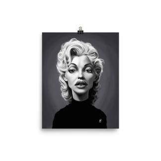 Marilyn Monroe (Celebrity Sunday) Art Print Poster
