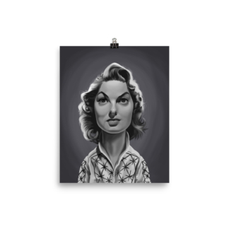 Ingrid Bergman (Celebrity Sunday) Art Print Poster